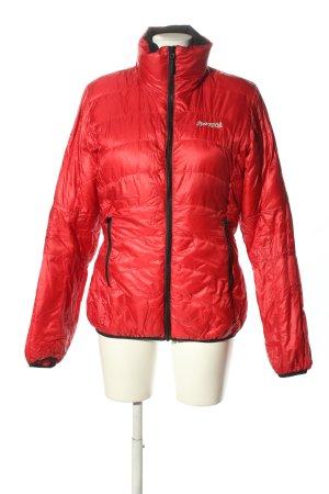 Bergans of Norway Giubbotto trapuntato rosso motivo trapuntato stile casual