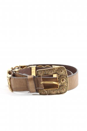 Bergé Leather Belt brown casual look
