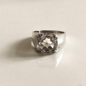 Bergkristall 925 Silber Ring Silberring Sterling Sterlingsilber Bergkristallring