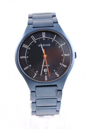 Bering Analog Watch blue business style