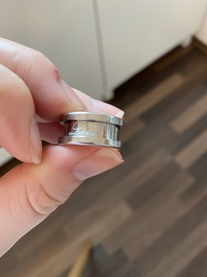 Bering Srebrny pierścionek srebrny