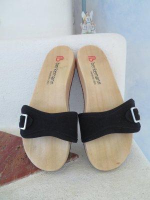 Berkemann Comfortabele sandalen veelkleurig Hout