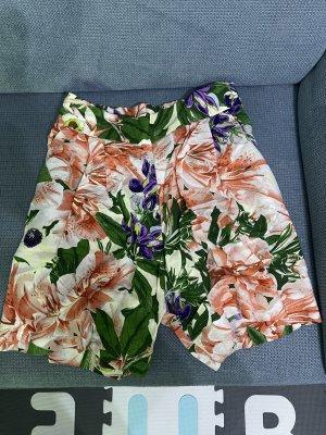 Bermda shorts high waist shorts neu blumen