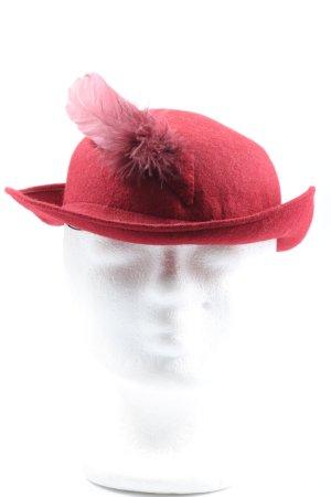 bermona trend Cappello di lana rosso stile casual