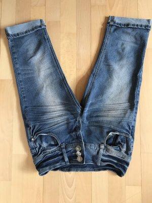 Takko Jeans a 3/4 blu scuro-blu