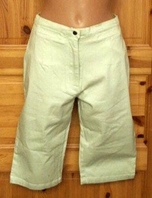 Bermuda Jeans Größe 40 Hellgrün Stretch