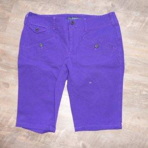 Lauren by Ralph Lauren Bermuda violeta amarronado Algodón