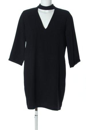 berna Cut Out Dress black casual look