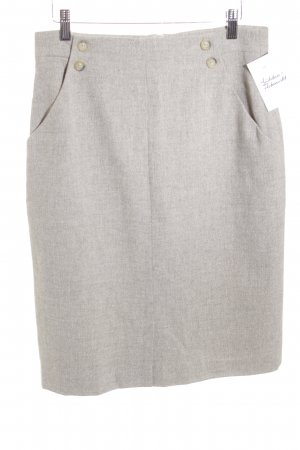 Bernd Berger Pencil Skirt beige-cream flecked business style