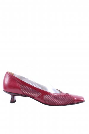 Bernd Berger Loafers red elegant