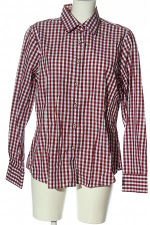Bernd Berger Lumberjack Shirt red-white check pattern casual look