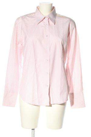 Bernd Berger Koszula z długim rękawem różowy-biały Na całej powierzchni