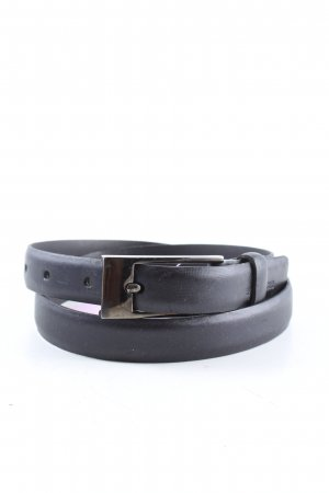 Bernd Berger Leather Belt black business style