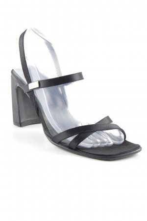 Bernd Berger Strapped High-Heeled Sandals black elegant