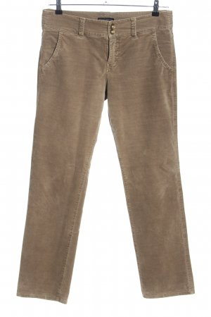 Bernd Berger Pantalone jersey marrone stile casual