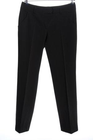 Bernd Berger Pantalone jersey nero stile casual