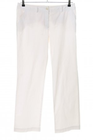 Bernd Berger Jersey Pants white casual look