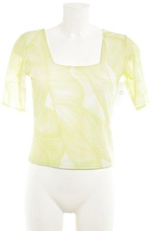 Bernd Berger T-Shirt wiesengrün-blassgrün Allover-Druck Casual-Look