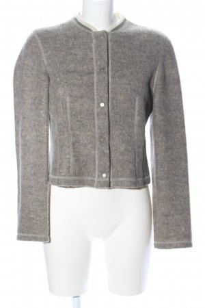 Bernd Berger Traditional Jacket light grey flecked casual look