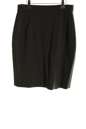 Bernd Berger Wool Skirt black business style