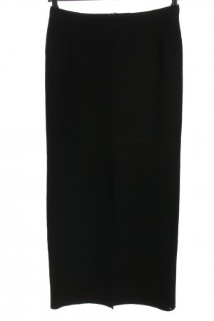 Bernd Berger Wool Skirt black casual look