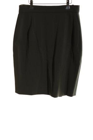 Bernd Berger Wełniana spódnica czarny W stylu biznesowym