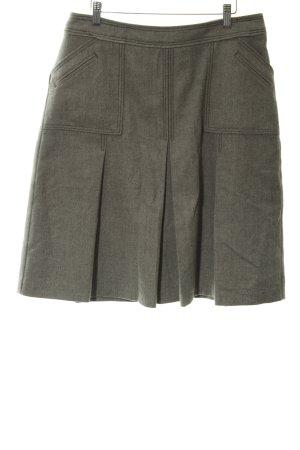 Bernd Berger Wool Skirt weave pattern casual look