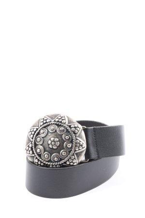 Bernd Götz Belt Buckle black classic style