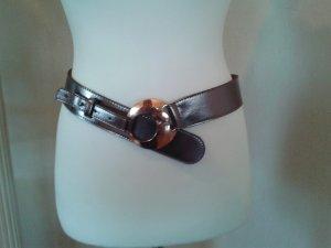 Bernd Götz Hip Belt rose-gold-coloured-bronze-colored leather