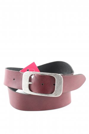 Bernd Götz Leather Belt red casual look