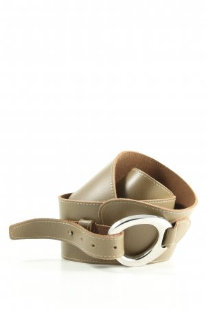 Bernd Götz Leather Belt natural white casual look