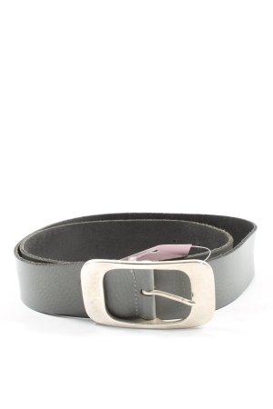 Bernd Götz Leather Belt light grey animal pattern casual look