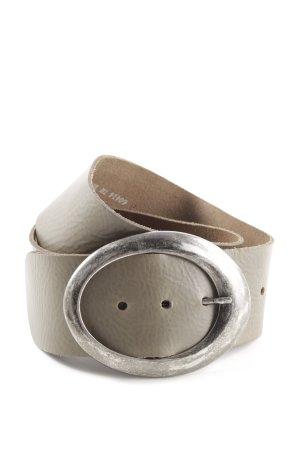 Bernd Götz Faux Leather Belt light grey casual look