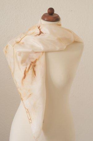 Handarbeit Silk Cloth dark yellow silk