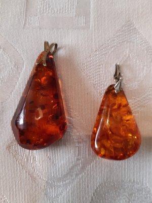 Colgante color bronce-naranja
