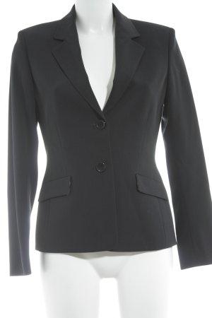 Berri Sport Couture Long-Blazer dunkelblau schlichter Stil