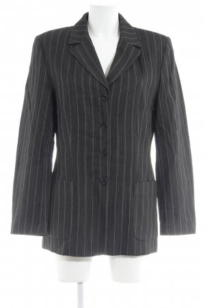 Berri Sport Couture Smoking-Blazer dunkelgrau-weiß Nadelstreifen Business-Look