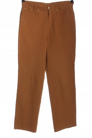 Berri Sport Couture Jersey Pants brown embroidered lettering casual look