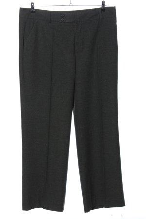 berri Stoffen broek zwart gestippeld zakelijke stijl