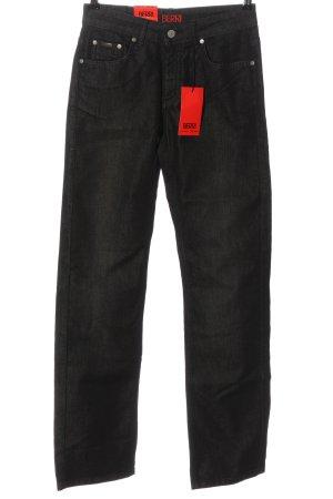 berri Jeans met rechte pijpen zwart casual uitstraling