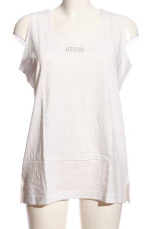 berri Boothalsshirt wit casual uitstraling