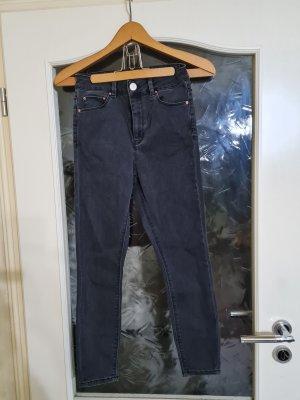 Berschka Jeans in Grau Gr. 36