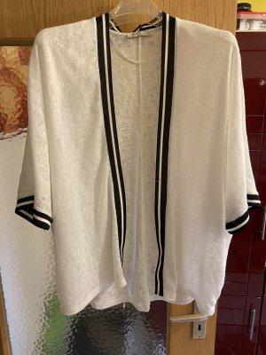 Bershka Gehaakte trui wit