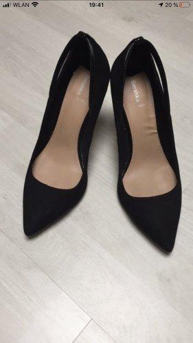 Bershka Budapest schoenen zwart