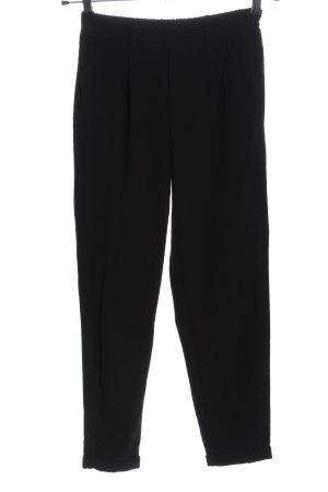 Bershka Pantalone a 7/8 nero stile professionale