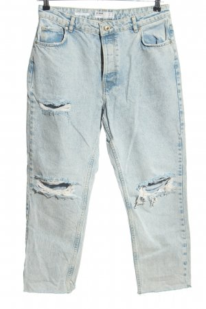 Bershka 7/8 Length Jeans blue casual look