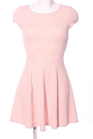 Bershka A-Linien Kleid nude Elegant