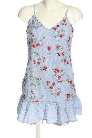 Bershka ärmellose Bluse Blumenmuster Elegant