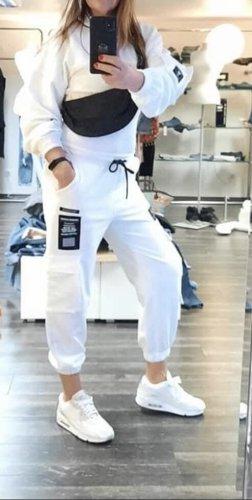 Bershka Leisure suit white