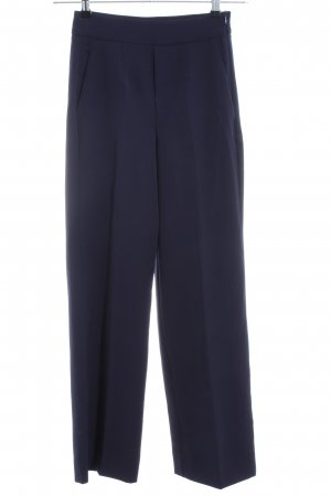 Bershka Anzughose dunkelblau Business-Look
